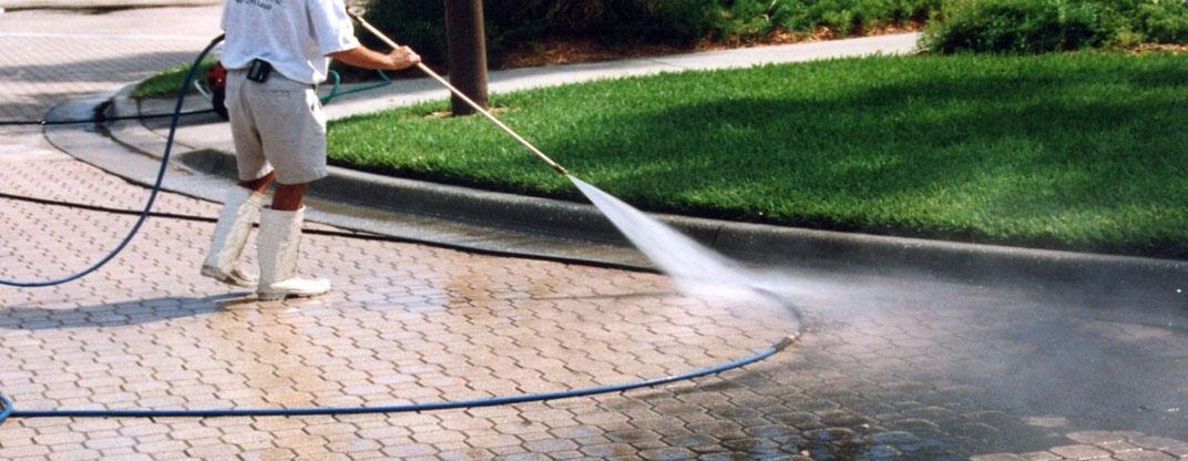 pressure washing durham's driveways
