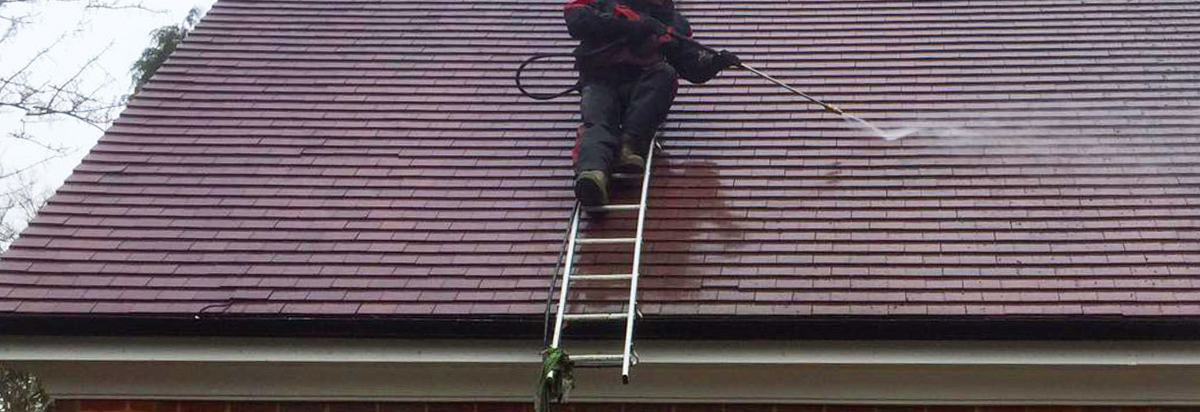 pressure washing durham roofs