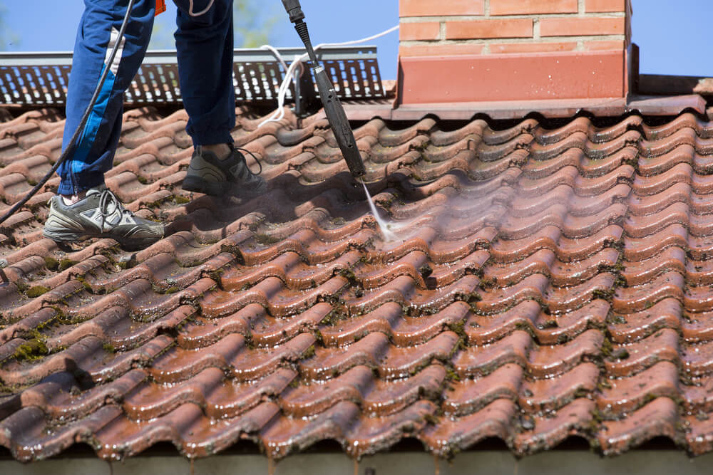 Pressure Washing Roofs
